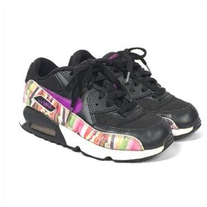 Nike Air Max 90 Print Mesh PS 833498-001 Size 2Y